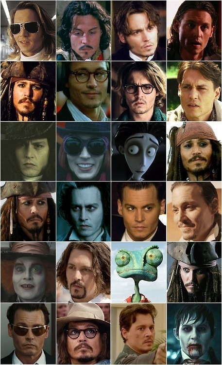 Johnny Depp Characters Collage 22226 Usbdata
